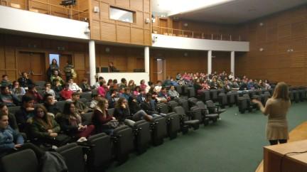 2ª visita de acompanhamento, alunos de 3º ciclo, EBS Tomás de Borba, fevereiro 2017